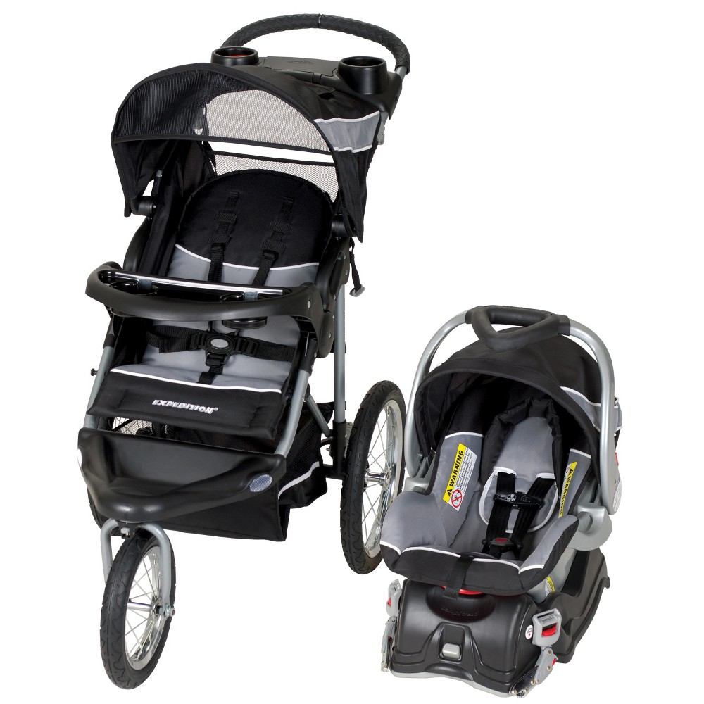 Image of Baby Trend Expedition Jogger Travel System - Phantom