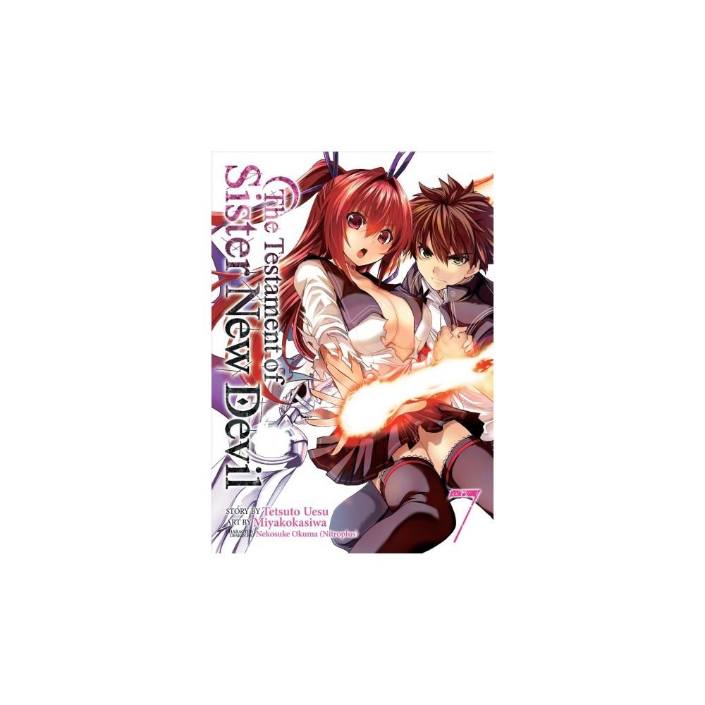 Testament of Sister New Devil 7 (Paperback) (Tetsuto Uesu)