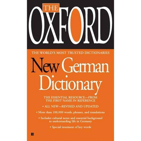 The Oxford New German Dictionary - (Paperback) - image 1 of 1
