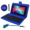 "LINSAY 7"" SUPER BUNDLE Quad Core Tablet with BLUE Keyboard  Earphones and Pen Stylus Android 9.0 PIE 2GB Ram 16GB Storage - image 3 of 3"