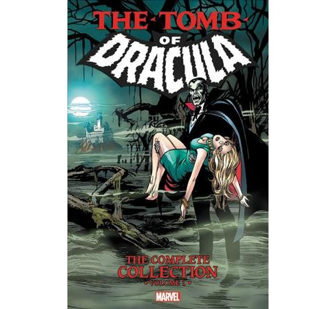 Tomb of Dracula 1 : The Complete Collection -  (Paperback) - image 1 of 1