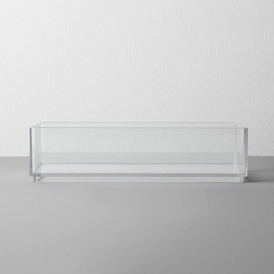 Plastic Organizer Tray 8 W X 4 D X 2 H Clear - Made By Design™