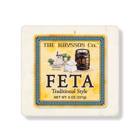 The Kryssos Co. Feta Cheese Traditional Style - 8oz - image 1 of 1