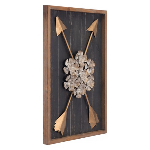 "ZM Home 24"" Rustic Wall Sculpture - image 1 of 3"