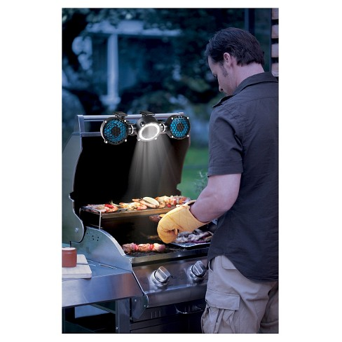 Image result for bbq grill light and fan
