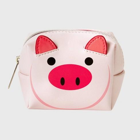 Tri-Coastal Design Cosmetic Bag - Pig - 1ea - image 1 of 1