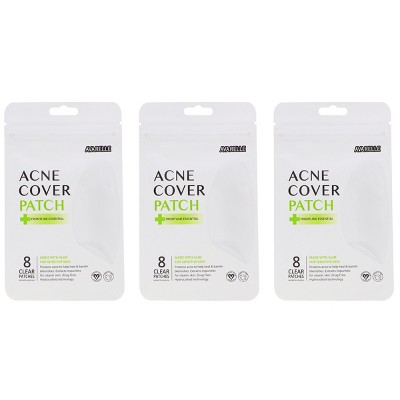 Avarelle Acne Cover Patch Frontline Essential 8 Oval Patches 3 Pack