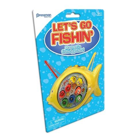 Pressman Let's Go Fishin' Mini Classic Game - image 1 of 1