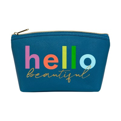 Ruby+Cash Zip Cosmetic Pouch - Hello Beautiful