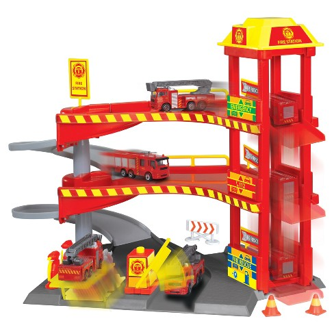 Dickie Toys - Fire Station Playset - image 1 of 2