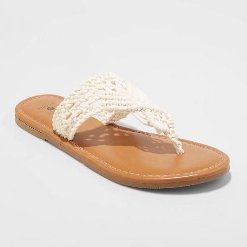 Women's Fia Crochet Flip Flops - Shade & Shore™ - image 1 of 3