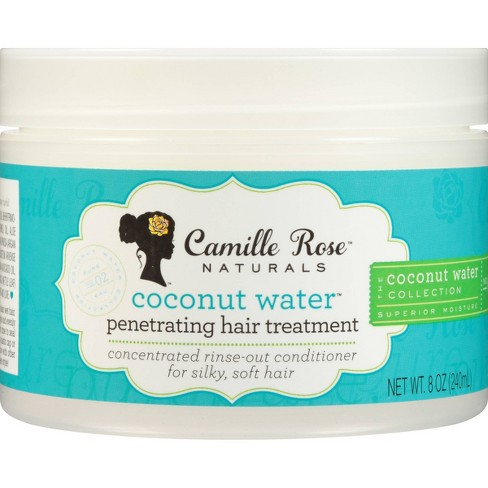 Camille Rose Natural Coconut Water Penetrating Hair Treatment - 8oz - image 1 of 4