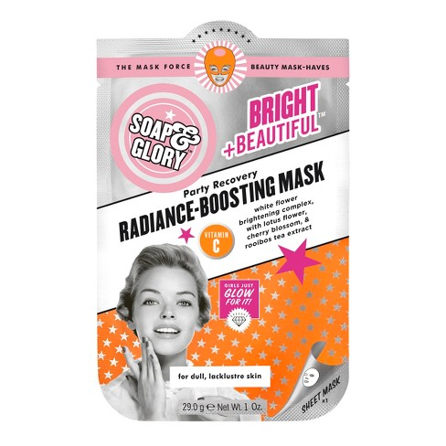 Soap & Glory Bright & Beautiful Radiance-Boosting Mask - 1oz - image 1 of 1