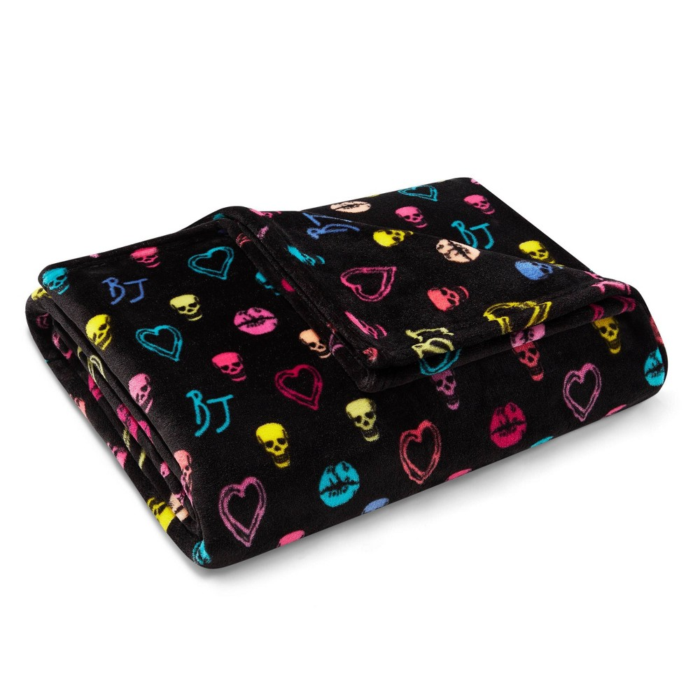 Image of Betsey Signature Throw Blanket Red - Betseyville