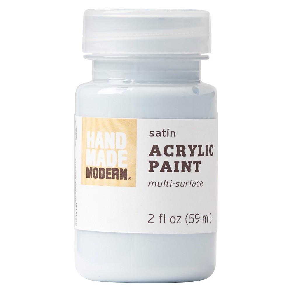Image of 2oz Satin Acrylic Paint - Sky Hand Made Modern