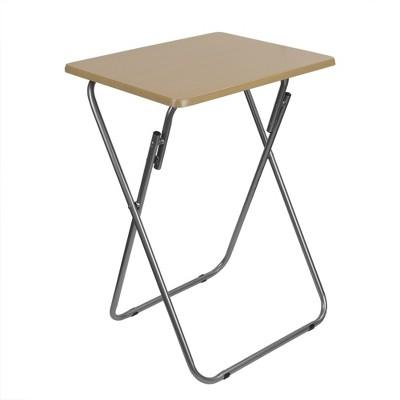 Home Basics Multi-Purpose Foldable Table, Natural