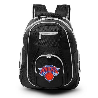 NBA New York Knicks Colored Trim Laptop Backpack