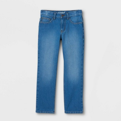 Boys' Relaxed Straight Fit Jeans - Cat & Jack™