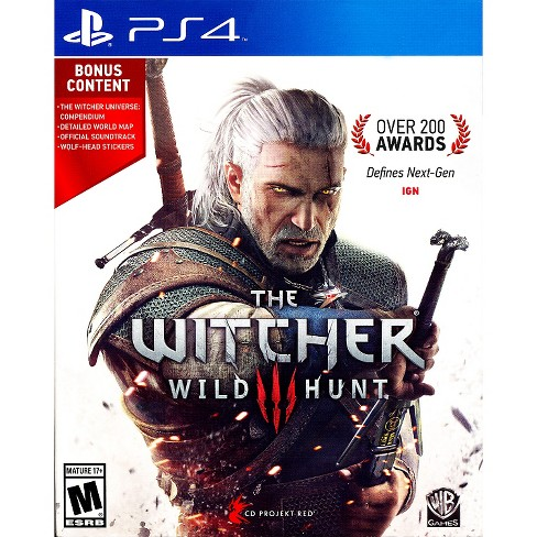 The Witcher 3: Wild Hunt PRE-OWNED PlayStation 4 - image 1 of 1