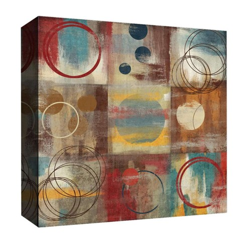 """16"""" x 16"""" Circles Through Decorative Wall Art - PTM Images - image 1 of 1"""