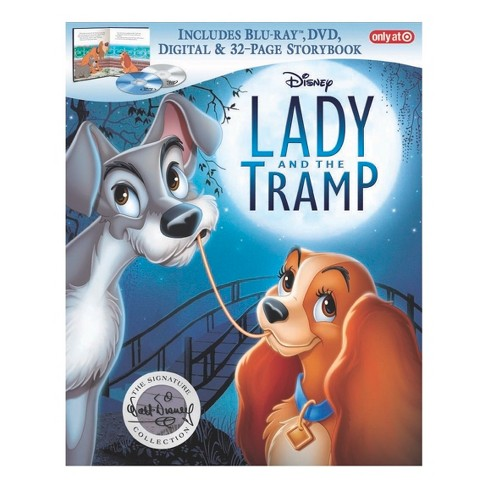 Lady and the Tramp Signature Collection Target Exclusive (Blu-ray + DVD + Digital) - image 1 of 1