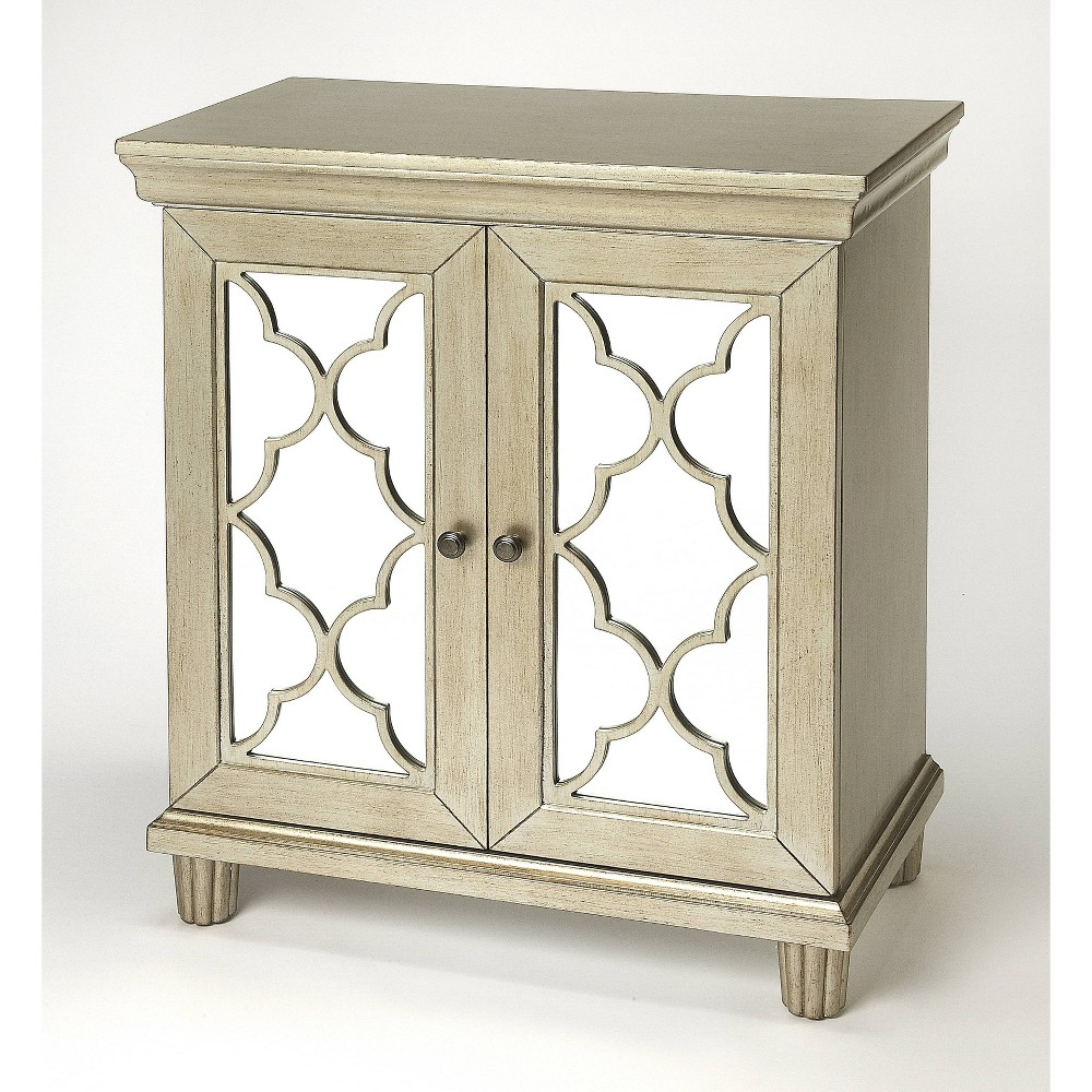 Jocelyn Accent Cabinet Silver - Butler Specialty