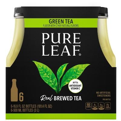Pure Leaf Green Tea - 6pk/16.9oz Bottles