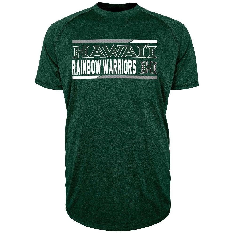 Ncaa Hawaii Rainbow Warriors Men 39 S Short Sleeve Performance T Shirt S