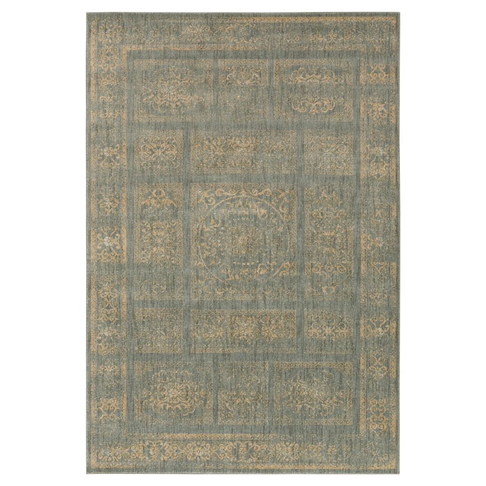 Rich Charcoal (Grey) Solid Tufted Area Rug - (6'7