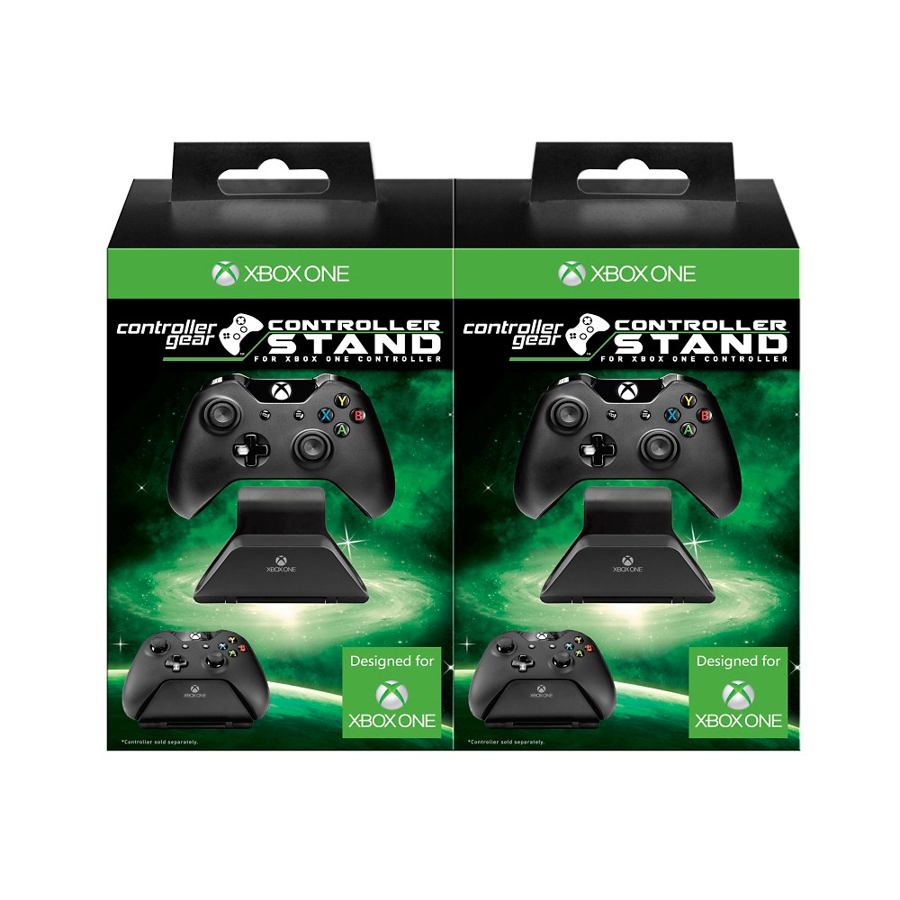 Xbox One Controller Stand 2-Pack - Black