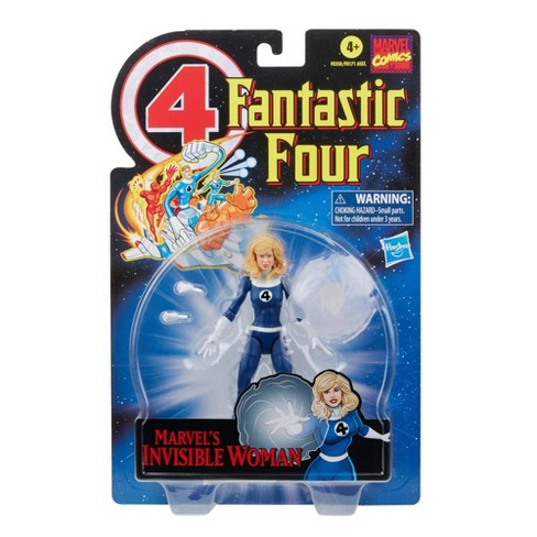 Hasbro Marvel Legends Series Retro 6in Fantastic Four Marvel's Invisible Woman Figure - image 1 of 4