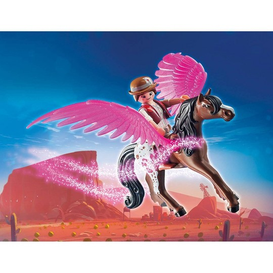 Playmobil Del and Marla with Pegasus image number null