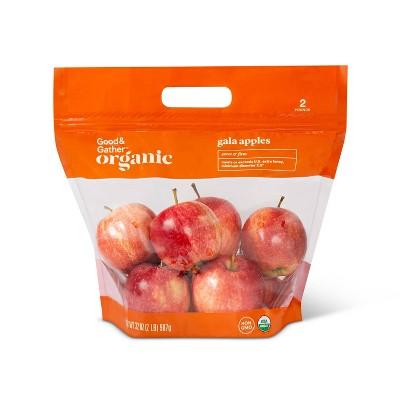 Organic Gala Apples - 2lb Bag - Good & Gather™