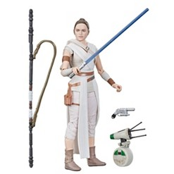 Star Wars The Black Series Rey and D-O Toy Action Figures