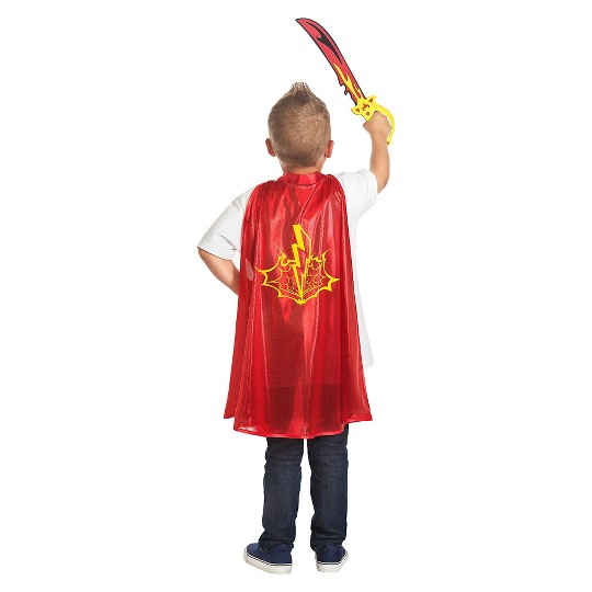 Little Adventures Boys' Adventure Hero Cape and Sword Set image number null