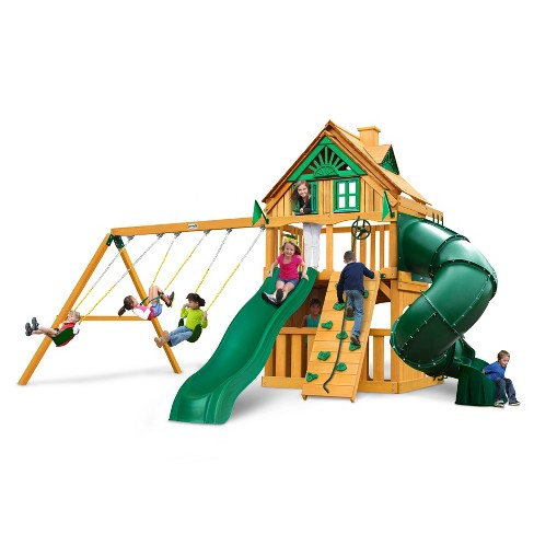 Gorilla Playsets Mountaineer Clubhouse Treehouse Swing Set Target