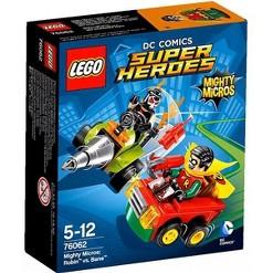 LEGO DC Super Heroes Mighty Micros Robin vs. Bane Set #76062