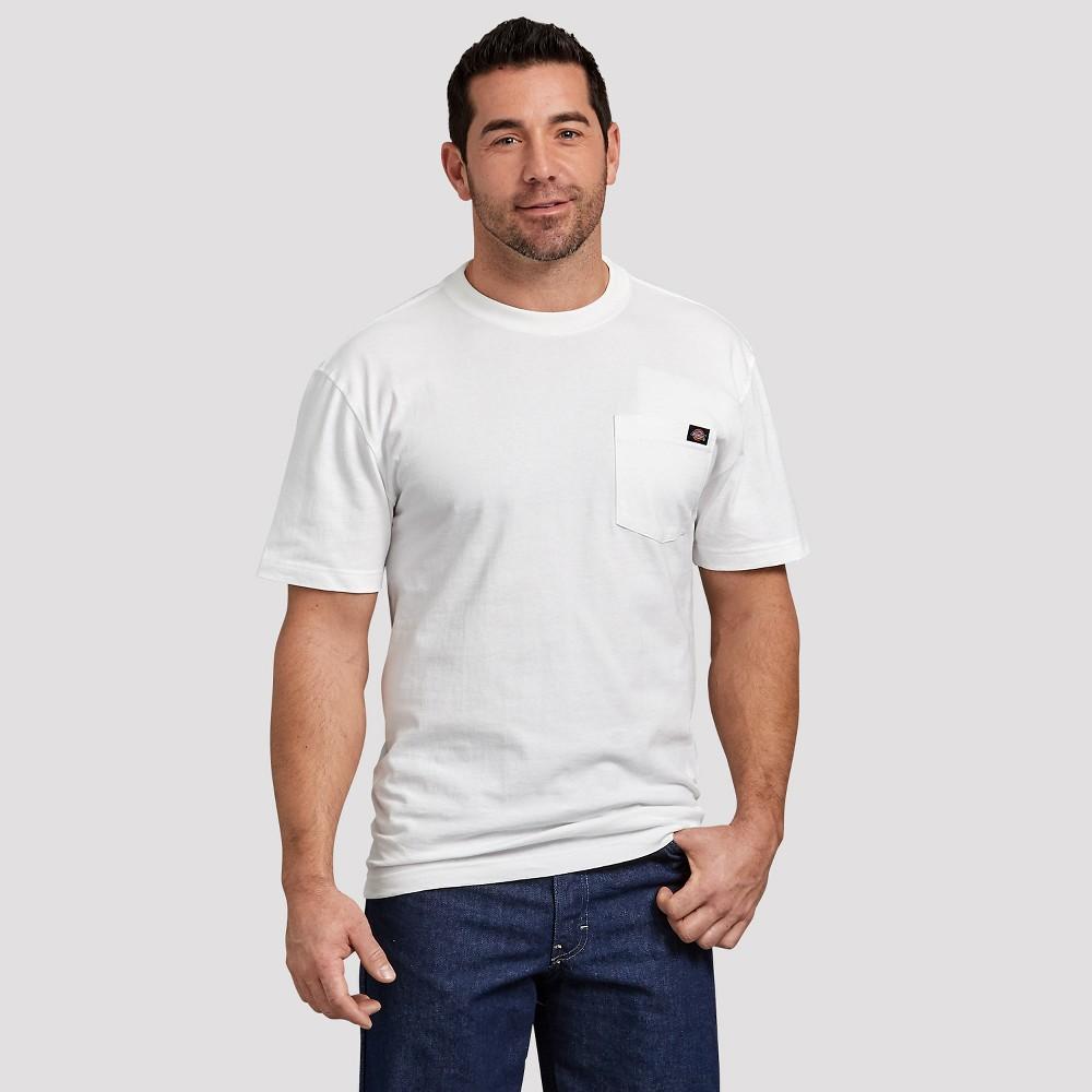 Dickies Men's Short Sleeve T-Shirt - White 3XL Tall, Size: 3XL - T