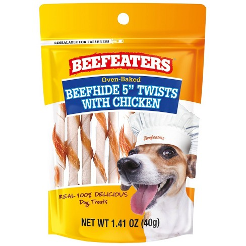 Beefeaters Beefhide Twist/Chicken for Dog - 1.41oz - image 1 of 3