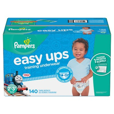 Pampers Easy Ups Boys Training Pants OMG Pack 2T-3T (140ct)