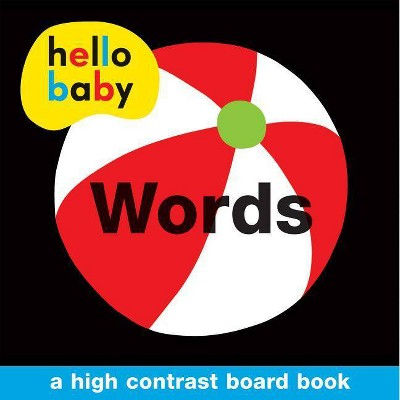 Hello Baby: Words - by Roger Priddy (Board_book)