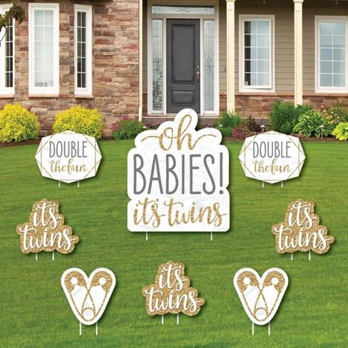 Baby Shower Yard Decorations