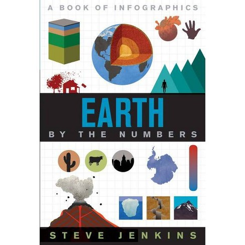 Earth - (By the Numbers) by  Steve Jenkins (Hardcover) - image 1 of 1