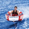 Airhead Inflatable Throne 1 Rider Sofa Design Lounging Lake Towable | AHTN-1 - image 2 of 4