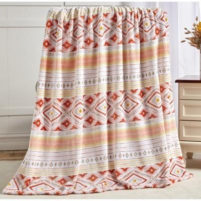 "Noble House Extra Heavy and Plush Oversized Throw Blanket - Idris 50"" x 70"""