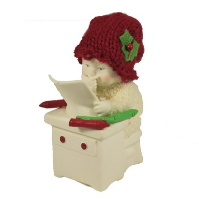 "Dept 56 Snowbabies 3.5"" Christmas Colors Christmas Knit Hat  -  Decorative Figurines"