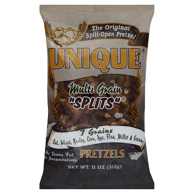 Unique Multi-Grain Pretzel Splits -11oz/12pk