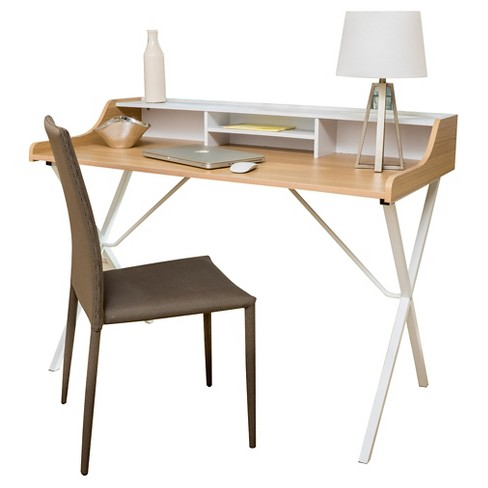 Aalto Computer Desk - White - Christopher Knight Home