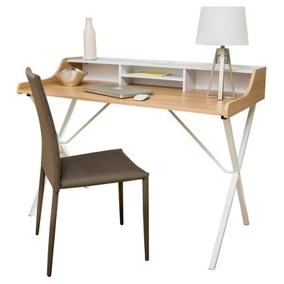 Aalto Computer Desk   White   Christopher Knight Home : Target