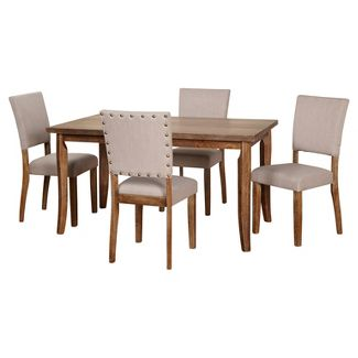 5 Piece Provence Dining Set - Driftwood - Target Marketing Systems